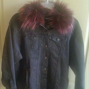NWT Max jeans vintage wash jean jacket